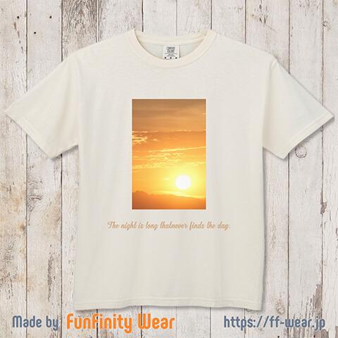 フォトプリントTシャツデザイン例その3