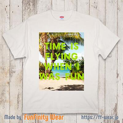 フォトプリントTシャツのデザイン例その4