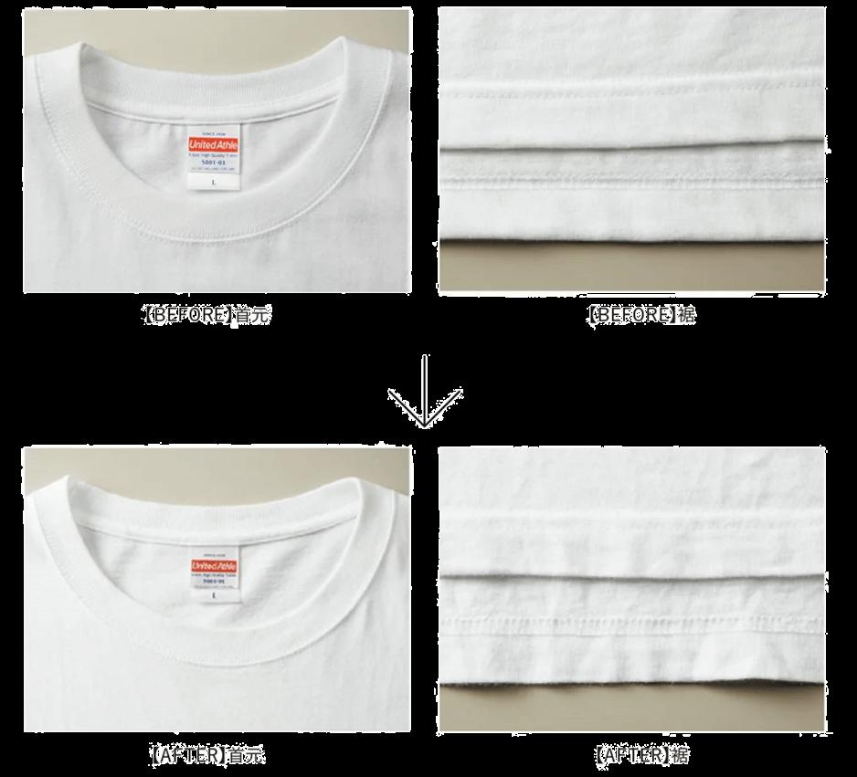 Tシャツの耐久性について