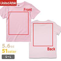 上までバックプリントが可能なオリジナルTシャツ
