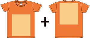 オリジナルTシャツのプリントパターン1