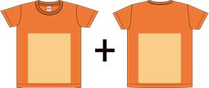 オリジナルTシャツのプリントパターン2