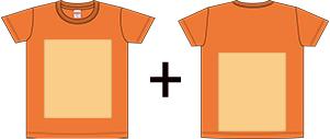 オリジナルTシャツのプリントパターン3