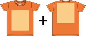オリジナルTシャツのプリントパターン4