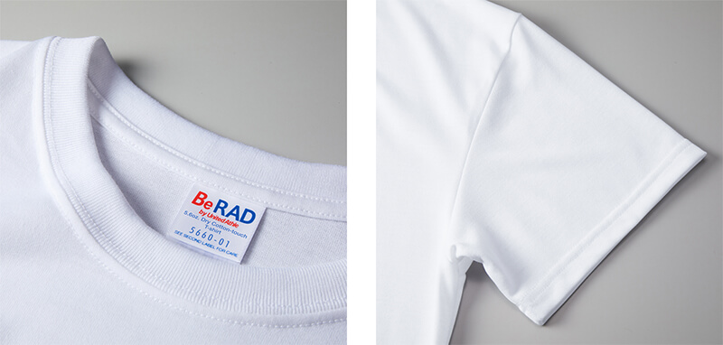 透けない白色のドライTシャツ