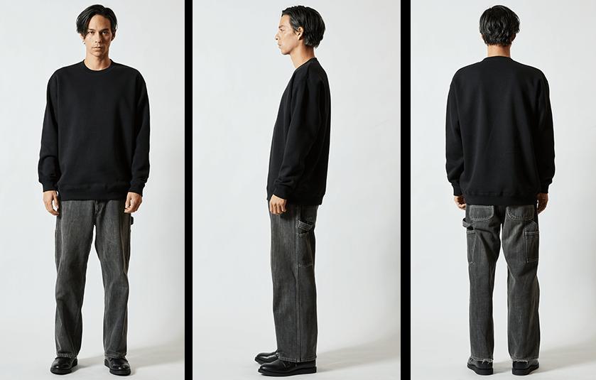 男性モデルによる着用イメージ
