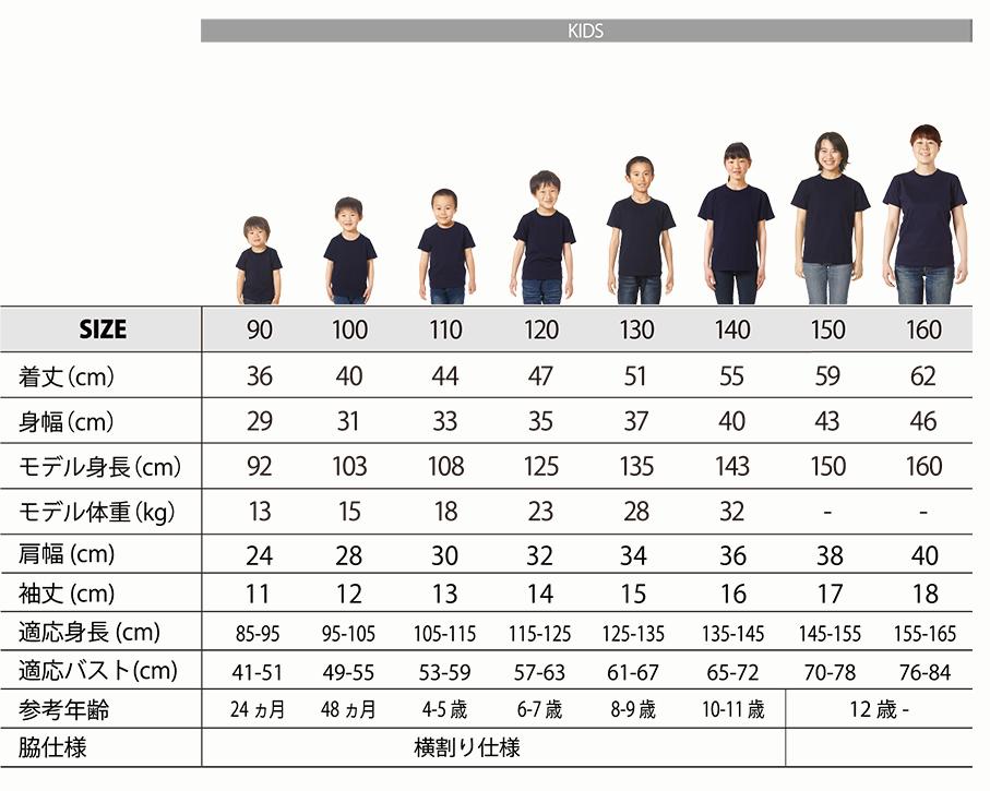 5001-02シルエット比較(子供)