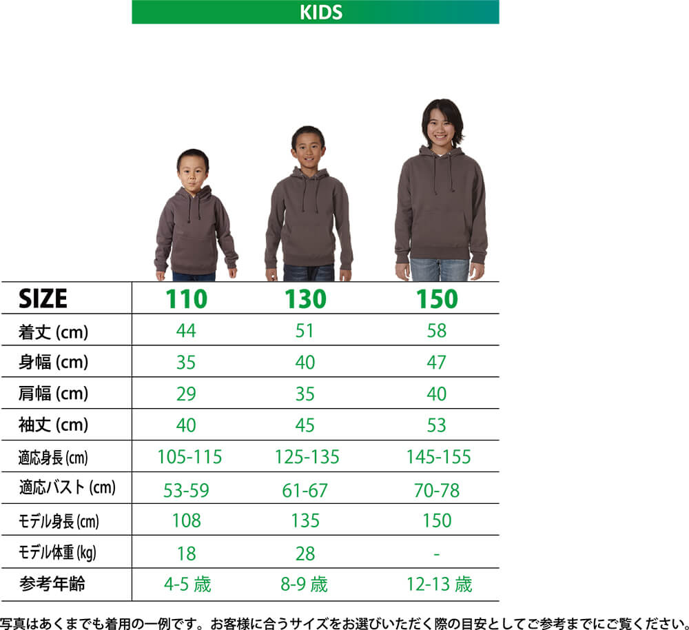 5214-02シルエット比較(子供)