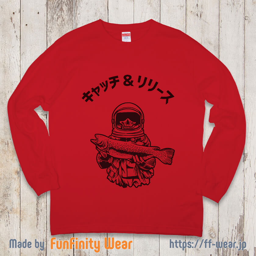 釣りTシャツのサンプル