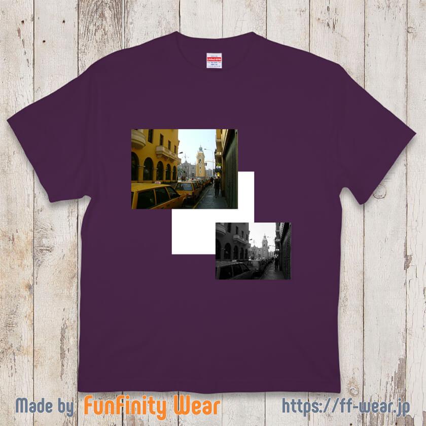 フォトプリントTシャツのデザイン例その5