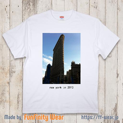 フォトプリントTシャツのデザイン例その6