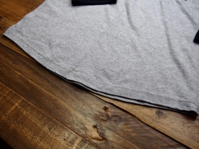 Tシャツ裾部分