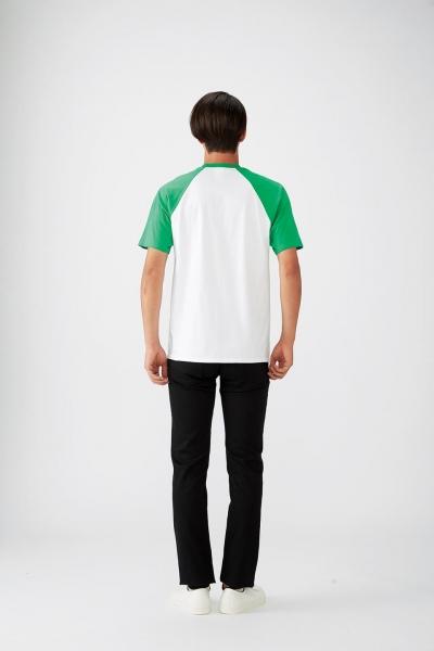 176㎝*Mサイズ(白×緑)