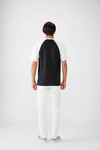 176㎝*Mサイズ(黒×白)
