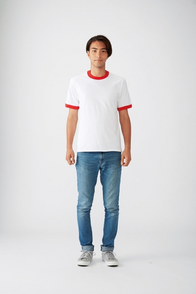 176㎝*Mサイズ(白×赤)