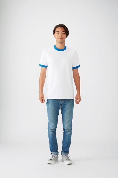 176㎝*Mサイズ(白×ロイヤルブルー)